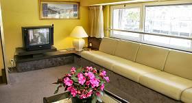 Salon télévision de l'hotel restaurant